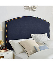 Cassie Curved Upholstered Full And Queen Headboard