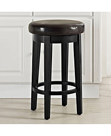 Mitchell Swivel Counter Stool With Cushion Set Of 2