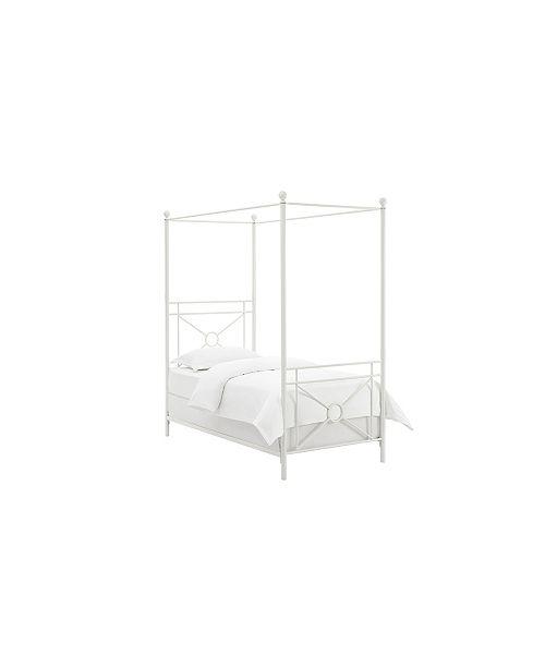 Crosley Montgomery Canopy Bed, Twin