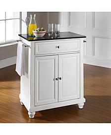 Cambridge Solid Granite Top Portable Kitchen Island