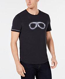 Michael Kors Men's Neon Aviator Graphic T-Shirt, Created for Macy's