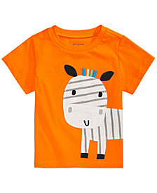 First Impressions Toddler Boys Zebra Graphic T-Shirt, Created for Macy's