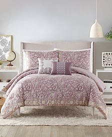 Indigo Bazaar Socorro King Comforter Set - 5 Piece