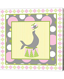 Baby Big Top VI Pink by ND Art & Design Canvas Art