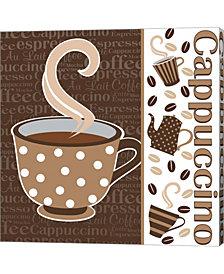 Cafe Latte IV by ND Art & Design Canvas Art
