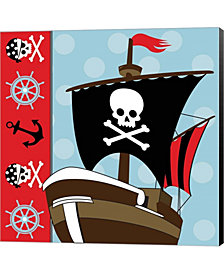 Ahoy Pirate Boy V By Nd Art & Design Canvas Art