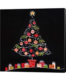 Christmas Tree By P.S. Art Studios Canvas Art