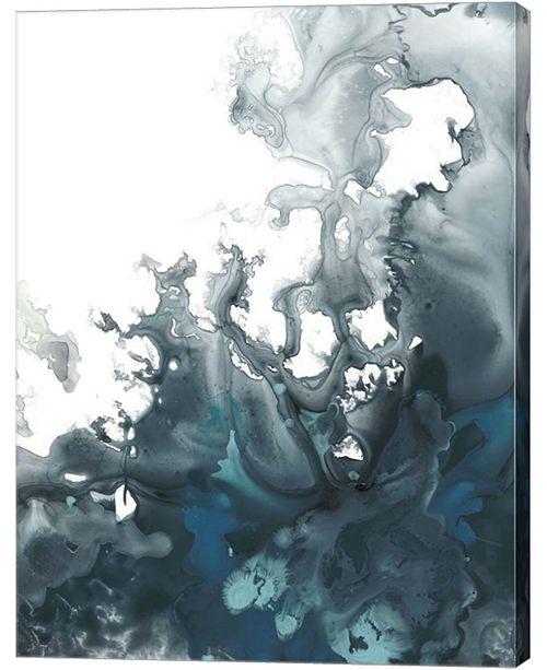 Metaverse Indigo Tempest I By June Erica Vess Canvas Art
