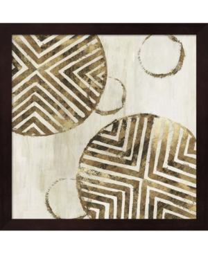 African Compostion By Eva Watts Framed Art