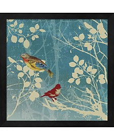 Blue Bird II By Posters International Studio Framed Art