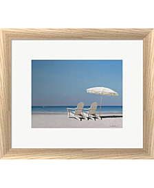 Beach Day by Zhen-Huan Lu Framed Art