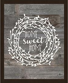 Rustic Home Sweet Ho By Jo Moulton Framed Art