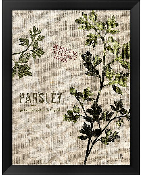 Metaverse Organic Parsley No B By Studio Mousseau Framed Art