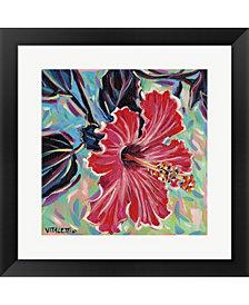 Hawaiian Beauty I By Carolee Vitaletti Framed Art