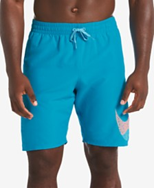 "Nike Men's 9"" Mash-Up Breaker Swim Trunks"