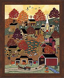 Autumn In Vermont by Medana Gabbard Framed Art