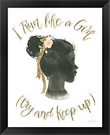 Girl Power IX by Jenaya Jackson Framed Art