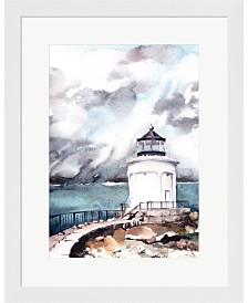 Lighthouse By Sophia Rodionov Framed Art