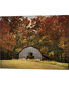 Autumn Barn By Jai Johnson Canvas Art