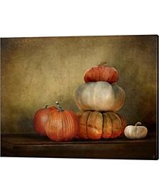Pumpkins Still Life By Jai Johnson Canvas Art