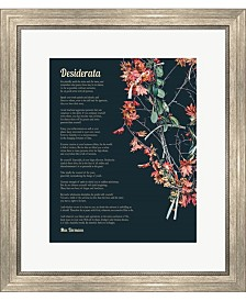 Desiderata Autumn Br By Quote Master Framed Art