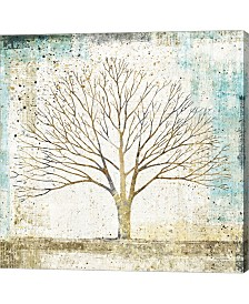 Solitary Tree Collag By Avery Tillmon Canvas Art