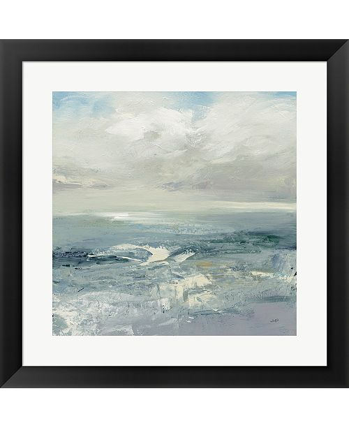 Metaverse Waves By Julia Purinton Framed Art