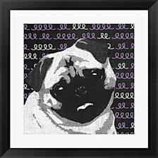 Pug By Posters International Studio Framed Art