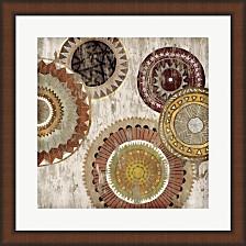 Native Circle Ii By Edward Selkirk Framed Art