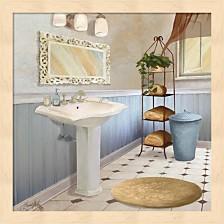 Sundance Bath Ii By Elizabeth Medley Framed Art