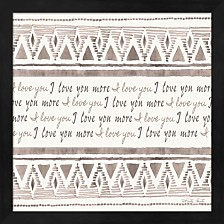 I Love You More By Cindy Jacobs Framed Art