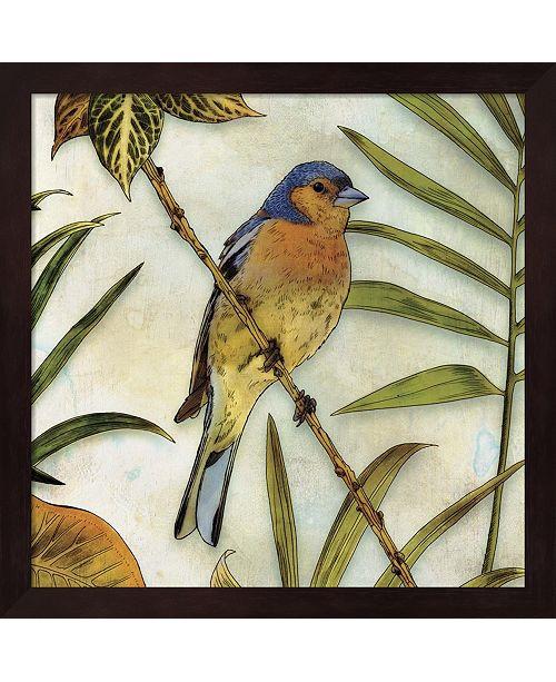 Metaverse Jungle Bird Ii By Edward Selkirk Framed Art