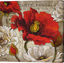 Paris Postcard II by Elizabeth Medley Canvas Art