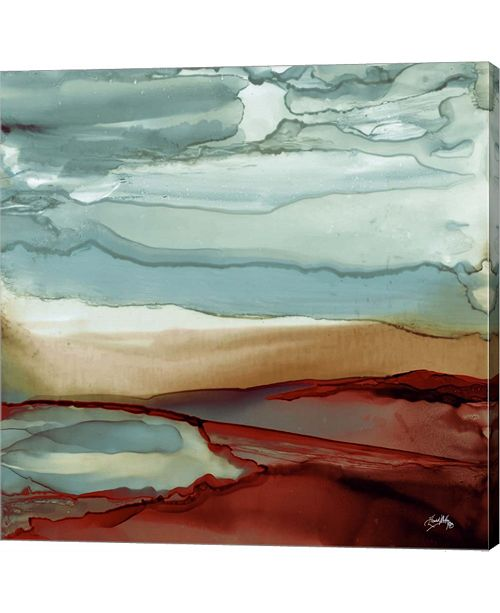 Metaverse New Sky Square By Elizabeth Medley Canvas Art