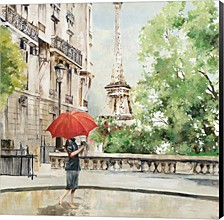 Paris Walk By Allison Pearce Canvas Art