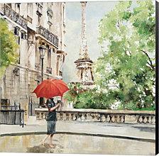 Paris Walk By Allison Pearce Canvas Art