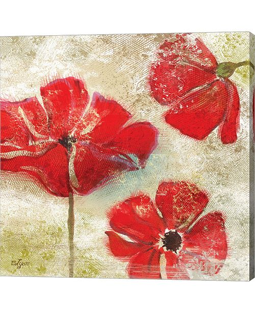 Metaverse Poppy Passion I By Rebecca Lyon Canvas Art