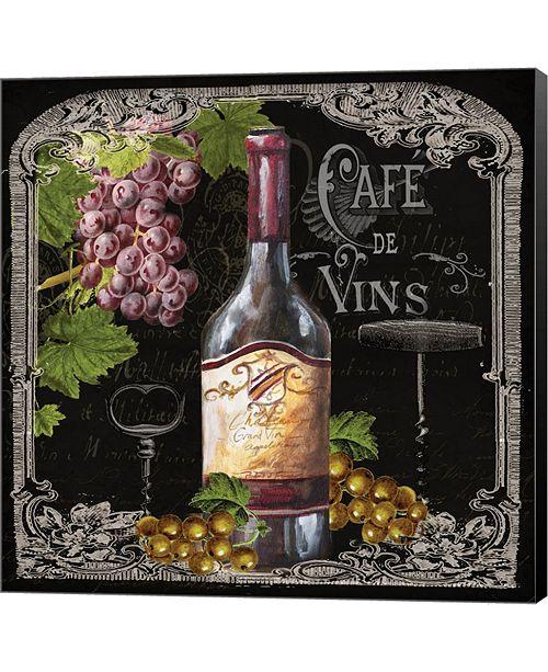 Metaverse Cafe De Vins Wine I By Tre Sorelle Studios Canvas Art