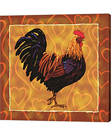 Rooster 1 By Jeff Maraska Canvas Art