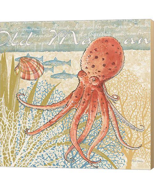 Metaverse Oceana IV By Pamela Gladding Canvas Art