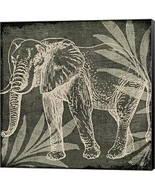 Elephant 1 By Color Bakery Canvas Art