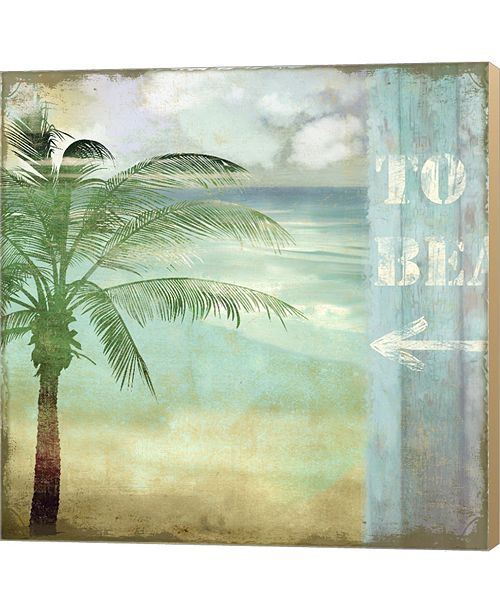Metaverse By The Sea III By Color Bakery Canvas Art
