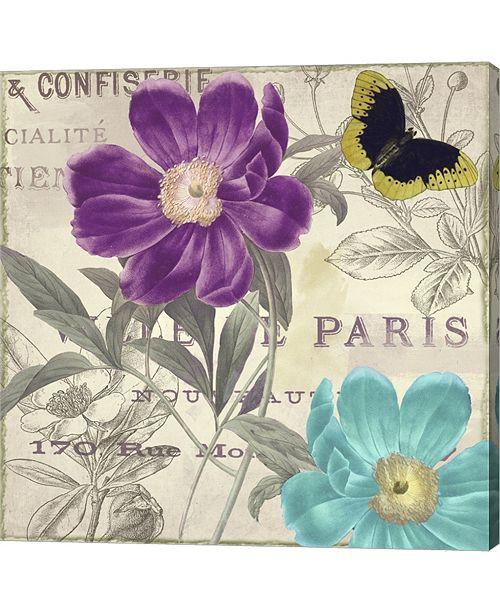 Metaverse Petals Of Paris II By Color Bakery Canvas Art