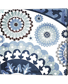 Moroccan Blues I By Color Bakery Canvas Art