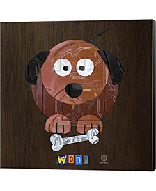 Woof The Dog By Design Turnpike Canvas Art