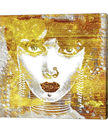 Gold Girl By Mindy Sommers Canvas Art