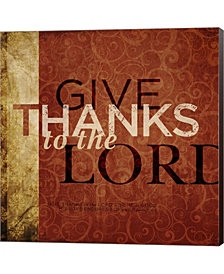 Give Thanks By Dallas Drotz Canvas Art