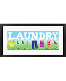 Laundry By Louise Carey Framed Art