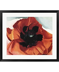 Poppy By Georgia O'Keeffe Framed Art