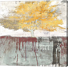 Sign of a Tree by Alex Blanco Canvas Art